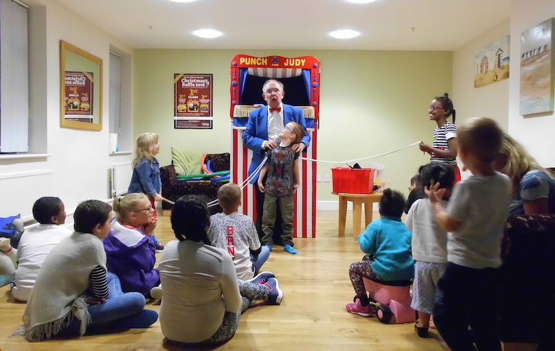 Family Weekend Punch and Judy